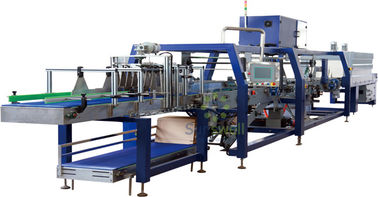 Chiny Automatic PE Film Shrink Packaging Equipment Linear Type For Soft Drink / Liquor fabryka