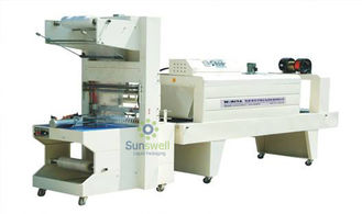 Chiny High Efficient Shrink Packaging Equipment , PE Film Automatic Wrapping Machine fabryka