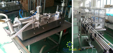 High Frequency Piston Filling Machine Compact With Rotary Transmission