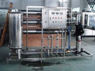 Chiny 2 stage RO Water Treatment Equipments for preparation of water for beverage industry fabryka