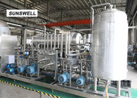 DN65 Material Outlet Diameter Carbonated Drink Bottling Machine For Beverage Factory