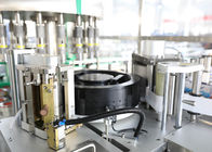 Round / Square Bottle Labeling Machine For Liquid Water Line / Filling / Bottling Machine