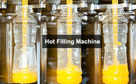 3-In-1 Monoblock Hot Filling Machine , Automatic Bottled Juice Filler