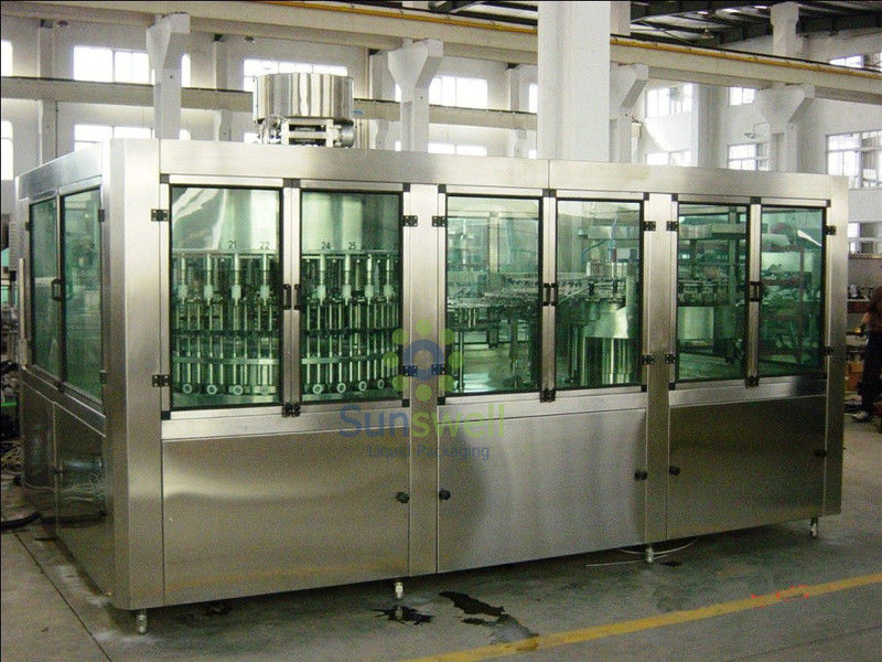 Full Automatic Water Filling Machines For Bottled Mineral Water With 24 Heads dostawca