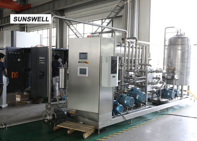 Automatic Carbonated Filling Machine With Automatic Mass Flow Mixer Reducing  Precision Error