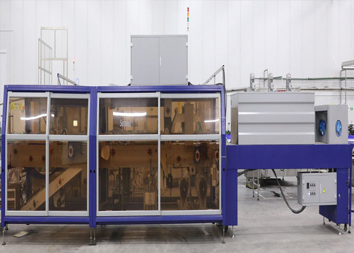 Fully Automatic Pallet Wrapping Machine With CE / ISO / SGS Certificate