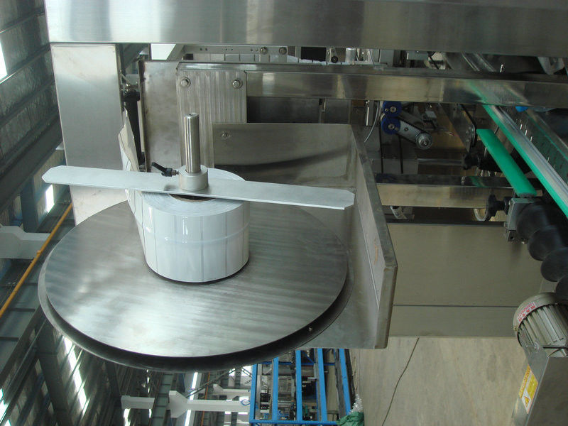 Industrial Automatic Bottle Label shrink sleeve labeling / labelling machine systems dostawca
