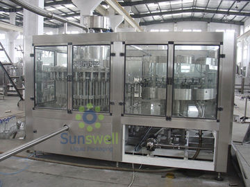 Customized Tea Filling Machine , Automatic Hot Filling Tea Line