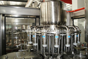 Plastic Bottle Hot Filling Machine 3 In 1 For Fruit Juice Processing