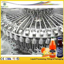 Chiny PET / Plastic Bottle Juice Filling Machine , Automatic Rotary Juice Filling Equipment fabryka